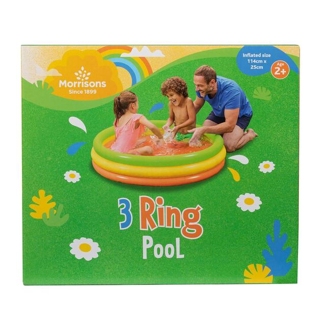 Morrisons Small 3 Ring Pool