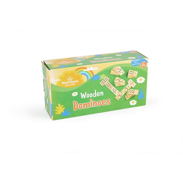 Morrisons Wooden Dominoes