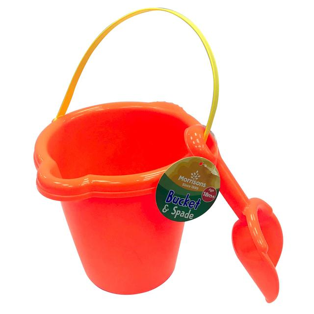 Morrisons Bucket With Spade