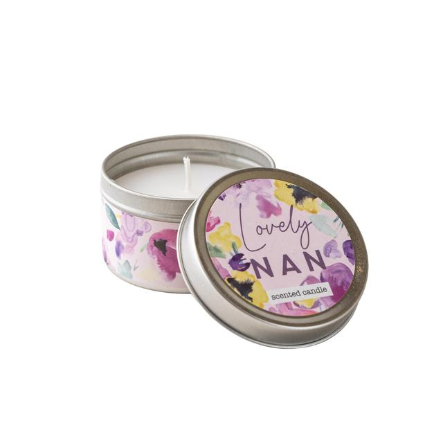 Candlelight Lovely Nan Candle In Tin