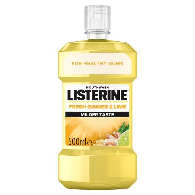 Listerine Ginger & Lime