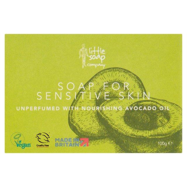 Little Soap Company Soap For Sensitive Skin With Avocado Oil