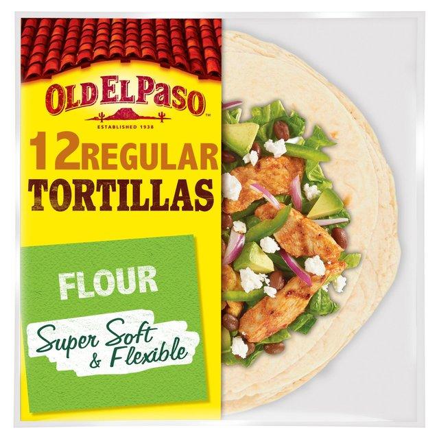 Old El Paso Regular Super Soft Flour Tortillas Family Pack