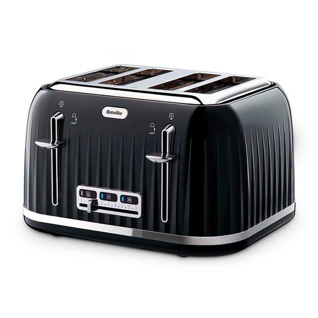 Breville Black   Impressions 4    Slice Toaster