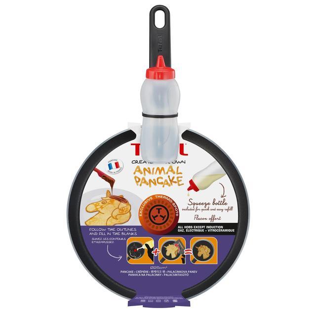 MORRISONS > Homeware Outdoors > Tefal Unicorn 25Cm Pancake Pan & Squeeze Bottle