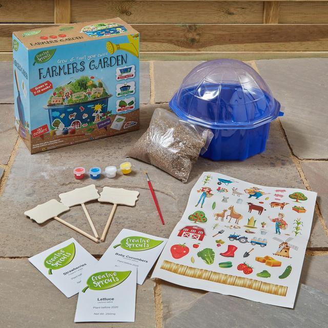 Creative Sprouts Grow Your Own Farmers Garden