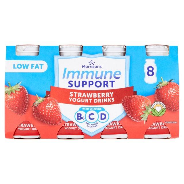 Morrisons Nourish 0% Fat Strawberry Yogurt Drink