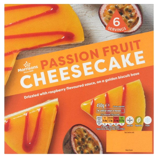 Morrisons Passion Fruit Cheese Cake