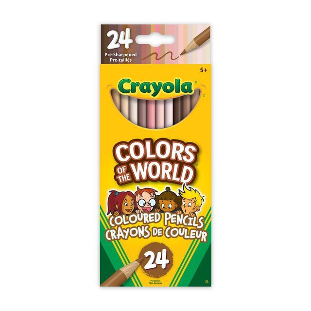 Crayola 24 COTW Coloured Pencils