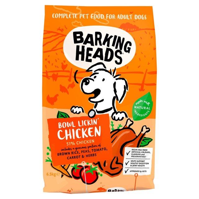 Barking Heads Bowl Lickin' Chicken Adult Dry Dog Food