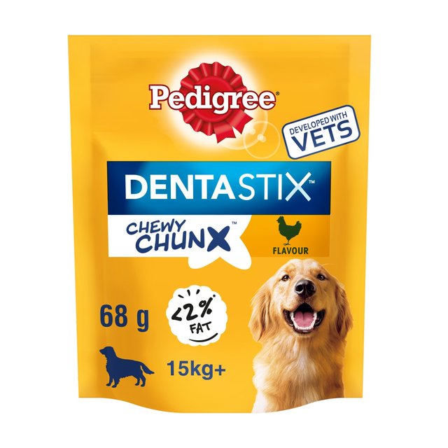 Pedigree Dentastix Chewy Chunx Maxi Dog Treat Chicken Flavour