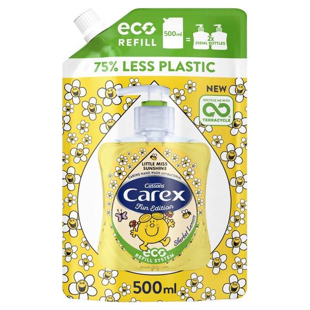 Carex Little Miss Sunshine Sherbet Lemon Handwash Refill