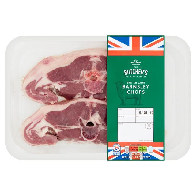 Morrisons Lamb Barnsley Chops