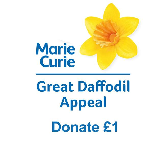 Donate 1 Pound to the Marie Curie Daffodil Appeal