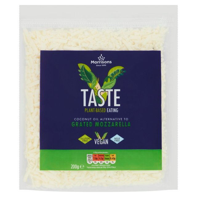 Morrisons Free From Grated Mozzarella Style