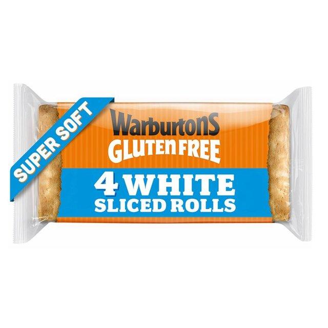 Warburtons Gluten Free Super Soft Sliced Square Rolls