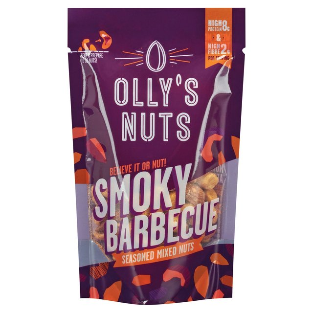 Olly's Nuts Smoky Barbecue Mix