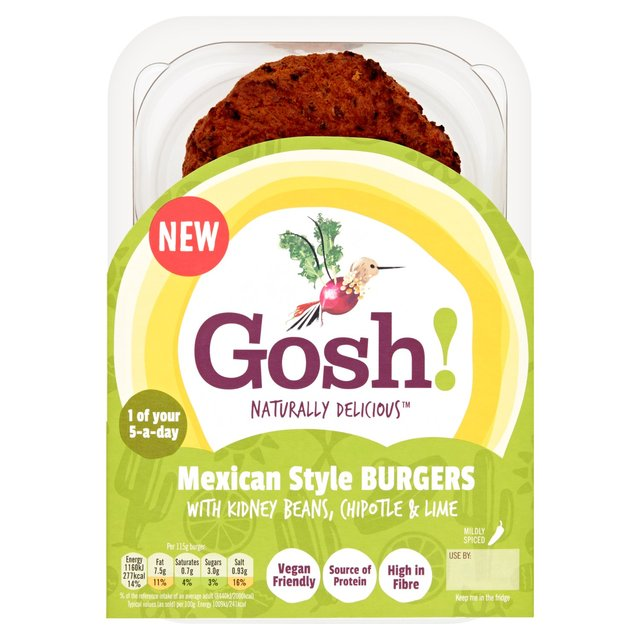 Gosh! 2 Mexican Style Burgers