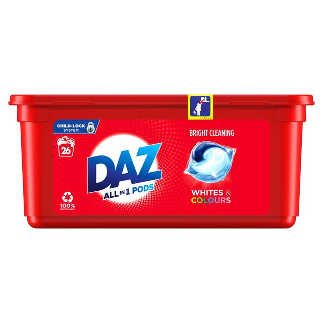 Daz All In 1 Pods For Whites & Colours