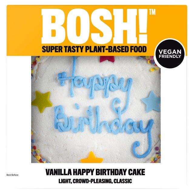 Bosh Celebration Cake