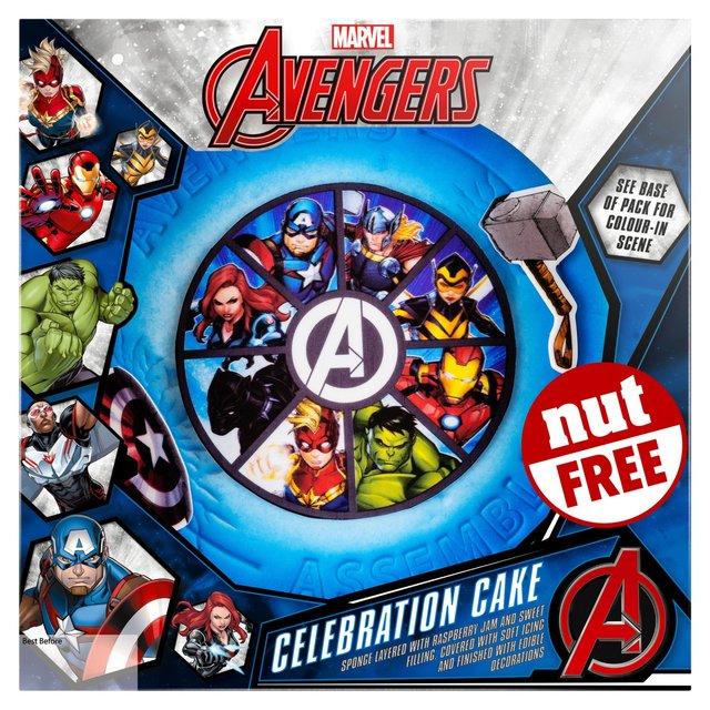 Avengers Celebration Cake