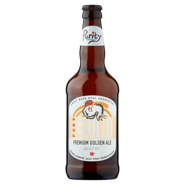 Purity Brewing Co. Pure Gold Premium Golden Ale