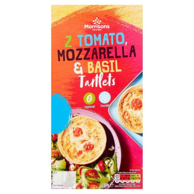 Morrisons Tomato, Mozzarella & Basil Tart