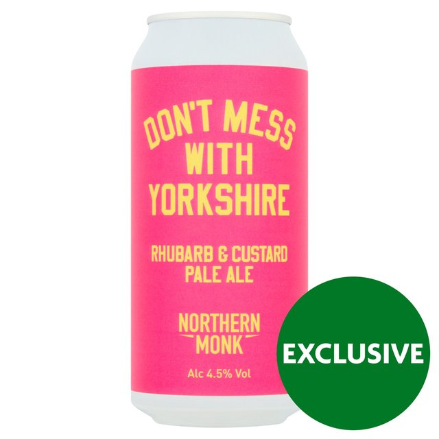 Northern Monk Don't Mess With Yorkshire Rhubarb & Custard
