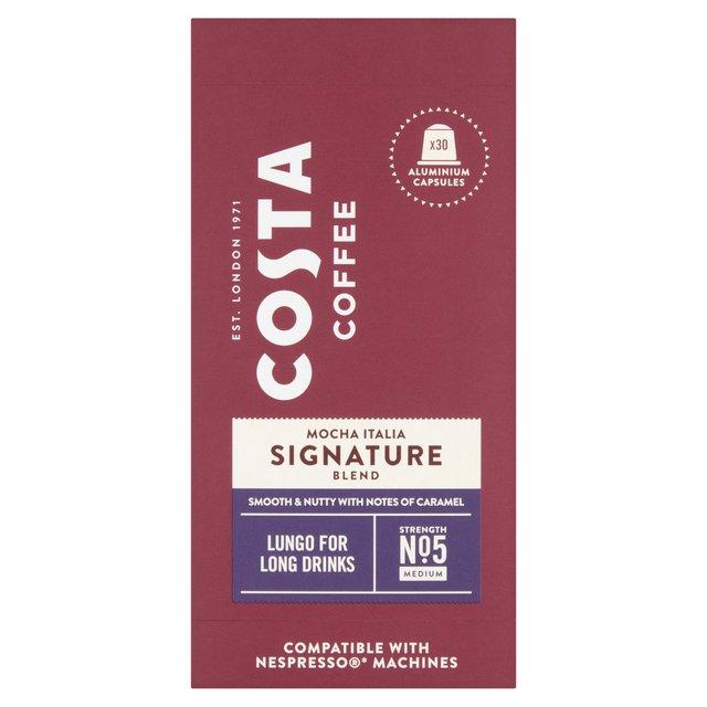 Costa Mocha Italia Signature Lungo Coffee X 30 Pods