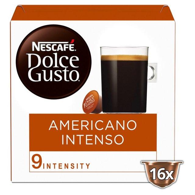 Nescafe Dolce Gusto Americano Intenso Coffee Pods x 16