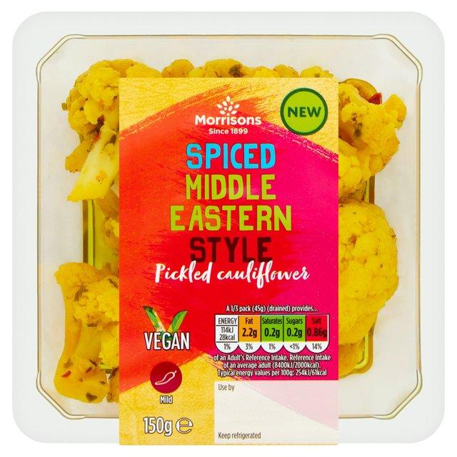 Morrisons Middle Eastern Pk Spiced Cauliflower