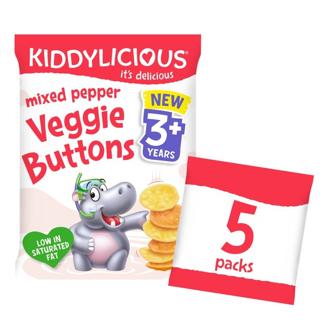 Kiddylicious Mixed Pepper Veggie Hippos