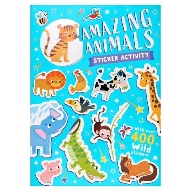 Amazing Animals Sticker Activity Book