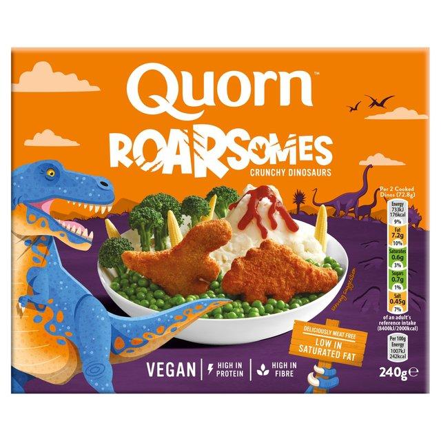 Quorn Roarsomes Vegan Crunchy Dinosaurs