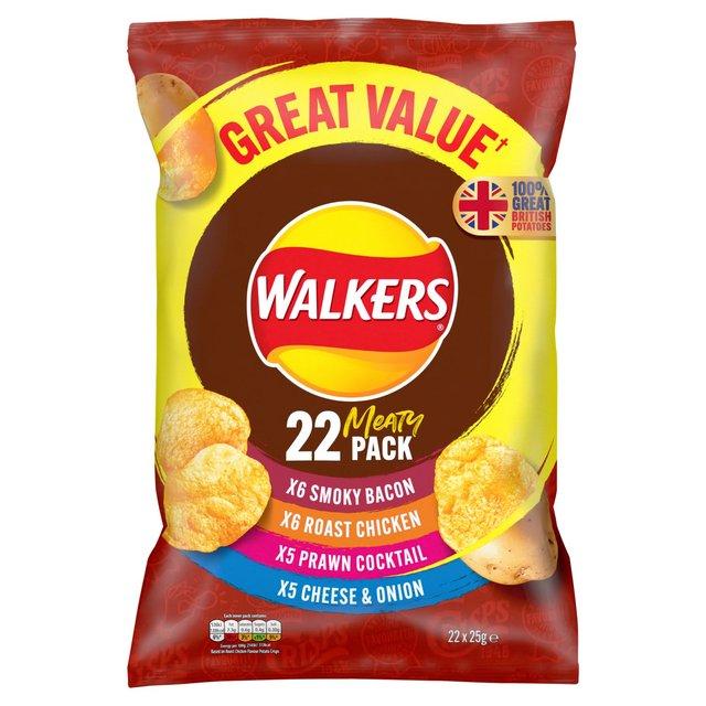 MORRISONS > Food Cupboard > Walkers Meaty