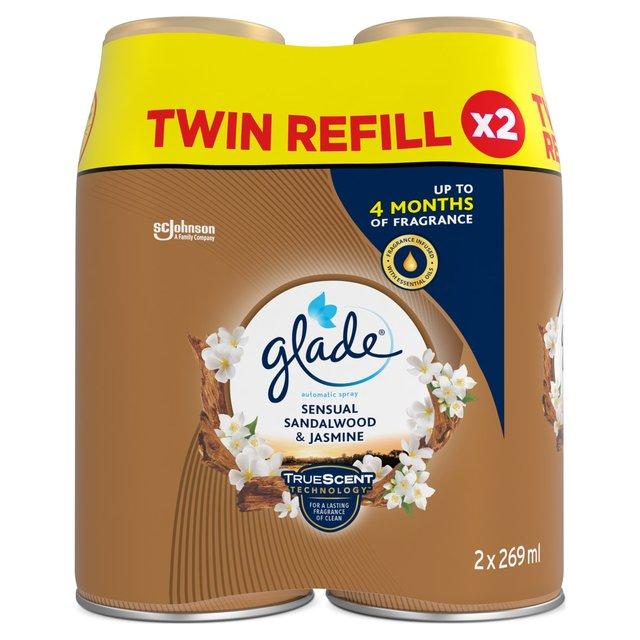 Glade Automatic Twin Refill Sandalwood & Jasmine