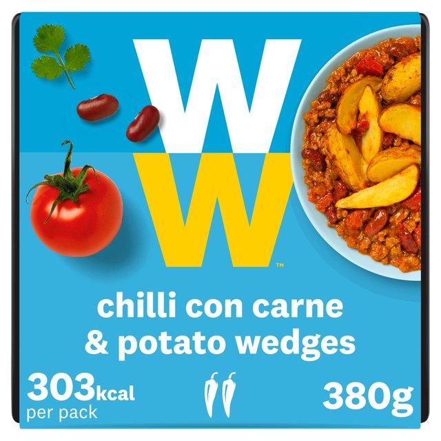 Ww Chilli Con Carne & Potato Wedges