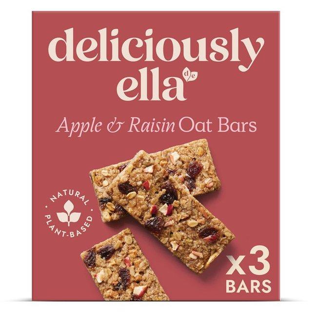 Deliciously Ella Apple Raisin & Cinnamon Oat Bars