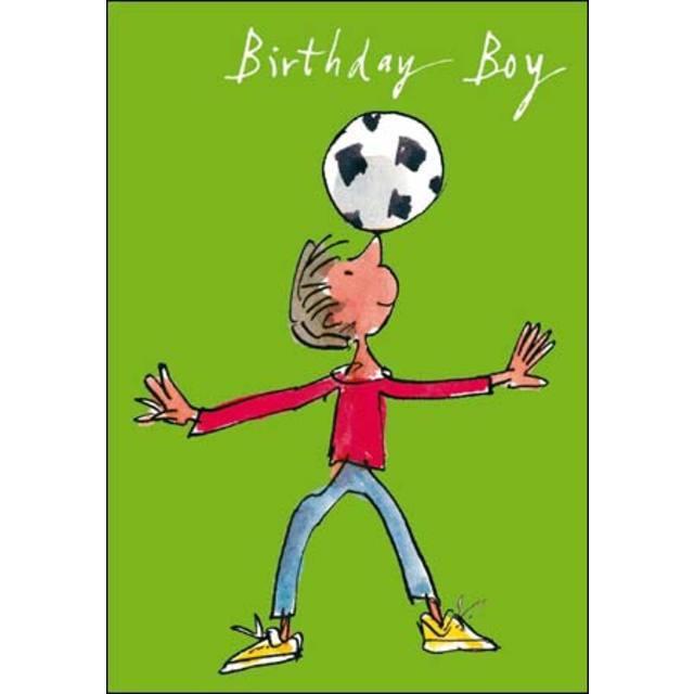 Quentin Blake Birthday Boy Birthday Card