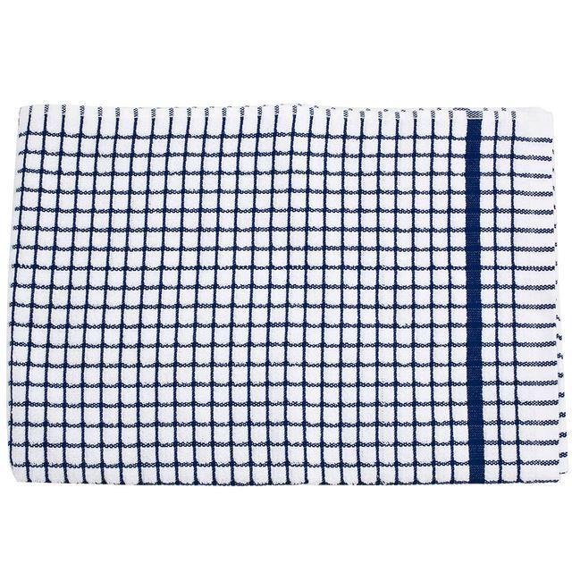 Poli-dri Cotton Tea Towel, Blue