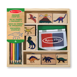 Melissa & Doug Dinosaur Stamp Set, 4yrs+