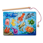 Melissa & Doug Magnetic Wooden Game Fishing, 3yrs+