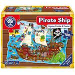 Orchard Toys Pirate Ship Jigsaw Puzzle, 6yrs+